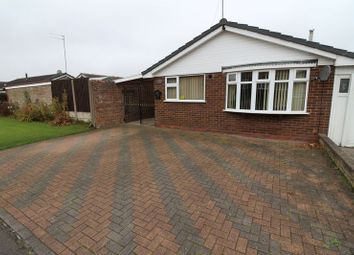 Thumbnail 2 bedroom detached bungalow for sale in Faversham Close, Bentley, Walsall