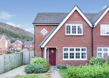 Thumbnail 3 bed semi-detached house for sale in Bryn Morgrug, Swansea