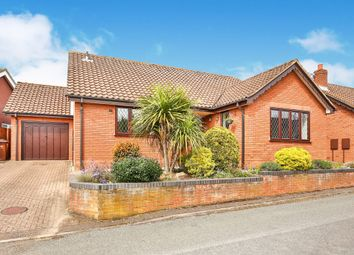 Thumbnail 3 bedroom detached bungalow for sale in Sidell Close, Cringleford, Norwich