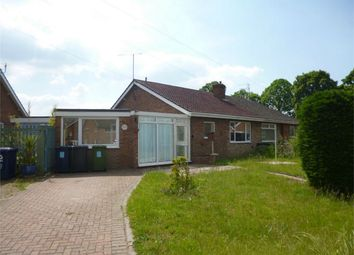 Thumbnail 2 bed semi-detached bungalow for sale in Little Paxton, St Neots, Cambridgeshire