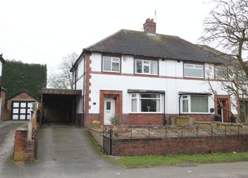 Thumbnail 3 bed semi-detached house for sale in Hanbridge Avenue, Newcastle-Under-Lyme