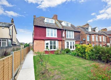Thumbnail 4 bed semi-detached house for sale in Ashley Avenue, Cheriton, Folkestone, Kent