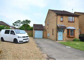 Thumbnail 3 bed link-detached house for sale in Bure Close, Watlington, King's Lynn
