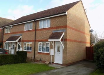Thumbnail 2 bed town house to rent in Smart Close, Thorpe Astley, Leics.