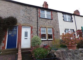 Thumbnail 2 bed terraced house for sale in Llysfaen Road, Old Colwyn, Colwyn Bay, Conwy