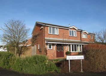 Thumbnail 4 bed detached house for sale in Jacques Close, Enderby, Leicester
