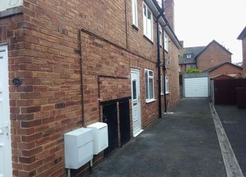 Thumbnail 2 bed flat to rent in Ormonde Road, Chester