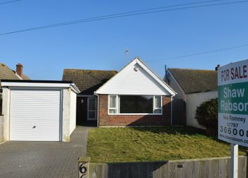 Thumbnail 3 bed detached bungalow for sale in Roberts Road, Greatstone, New Romney
