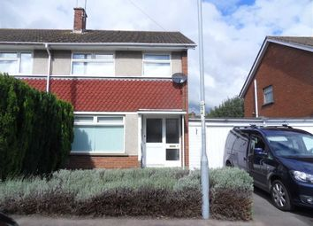 Thumbnail 3 bed semi-detached house to rent in Priory Gardens, Usk, Monmouthshire