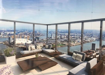 Thumbnail 1 bed flat for sale in Valiant Tower, South Quay Plaza, Canary Wharf, London