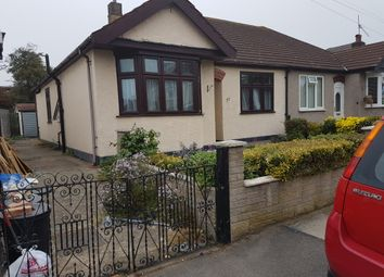 Thumbnail 3 bed semi-detached bungalow for sale in Bede Road, Chadwell Heath