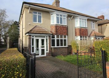 Thumbnail 3 bed semi-detached house for sale in Claverham Road, Fishponds, Bristol