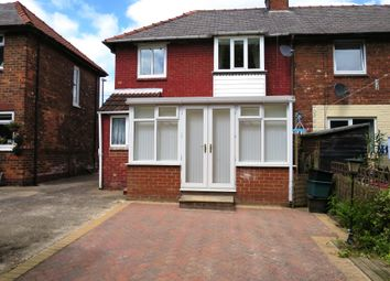 Thumbnail 2 bed semi-detached house to rent in Portholme Drive, Selby