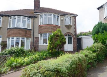 Thumbnail 3 bed semi-detached house for sale in Oliver Road, Sheffield