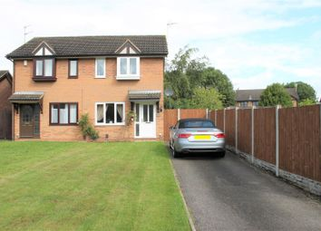 Thumbnail 2 bed semi-detached house for sale in Partridge Way, Mickleover, Derby