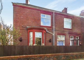 Thumbnail 3 bed flat for sale in North View, Wallsend