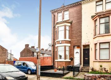 Thumbnail 4 bed end terrace house for sale in Selwyn Street, Liverpool