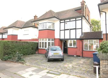 Thumbnail 4 bed detached house to rent in Haslemere Avenue, London