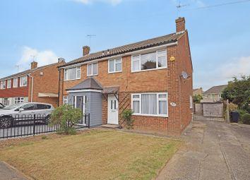 Thumbnail 3 bed semi-detached house to rent in Marlborough Way, Kennington, Ashford, Kent
