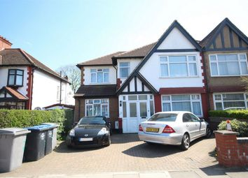 Thumbnail 3 bed flat to rent in Castleton Avenue, Wembley
