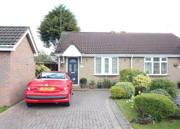 Thumbnail 1 bed semi-detached bungalow for sale in Broadley Close, Hull