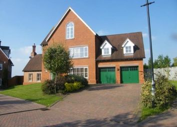 Thumbnail 5 bed detached house for sale in Sandford Crescent, Crewe, Cheshire