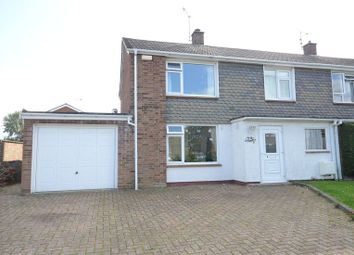 Thumbnail 3 bed end terrace house to rent in Chestnut Crescent, Shinfield, Reading