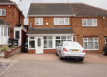 Thumbnail 4 bedroom semi-detached house for sale in Acfold Road, Handsworth Wood, Birmingham