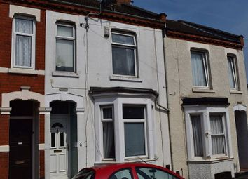 Thumbnail 3 bed terraced house to rent in Manfield Road, Northampton