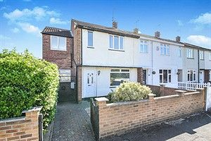 Thumbnail 4 bed end terrace house to rent in Swarkestone Drive, Littleover, Derby
