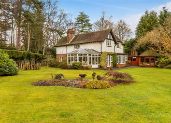 Thumbnail 3 bed detached house for sale in Worplesdon, Woking, Surrey