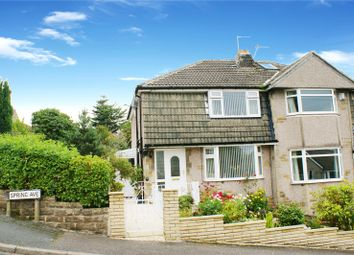 Thumbnail 3 bed semi-detached house for sale in Spring Avenue, Keighley, West Yorkshire