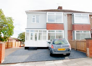 Thumbnail 3 bed semi-detached house for sale in Broomhill Gardens, Hartlepool