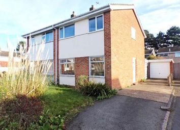 Thumbnail 3 bed semi-detached house for sale in Chantry Avenue, Kempston, Bedford, Bedfordshire