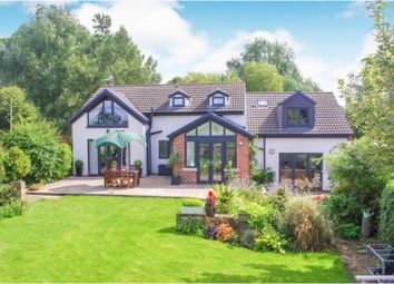 Thumbnail 4 bed detached house for sale in Water End, Brompton