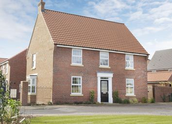 "Thumbnail 4 bedroom detached house for sale in ""Cornell"" at Welbeck Avenue, Burbage, Hinckley"