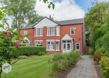 Thumbnail 4 bed semi-detached house for sale in Egerton Park, Worsley, Manchester