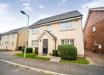 Thumbnail 4 bed detached house for sale in Elmcroft Close, Beck Row, Bury St. Edmunds
