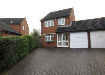 Thumbnail 3 bed link-detached house for sale in Mere Road, Wigston