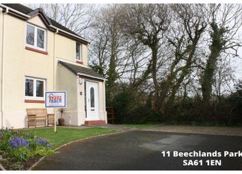 Thumbnail 3 bed detached house for sale in Beechlands Park, Haverfordwest
