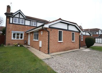 Thumbnail 4 bed detached house for sale in Linnet Grove, Macclesfield
