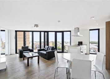 Thumbnail 2 bed flat for sale in Unex Tower, Station Street, London