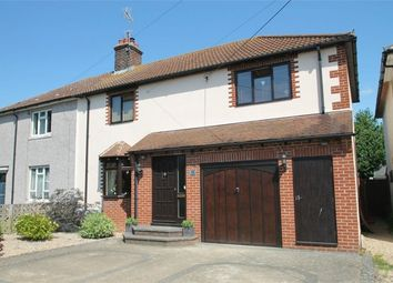 Thumbnail 3 bed semi-detached house for sale in The Crecsent, Great Horkesley, Colchester, Essex