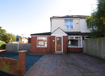 Thumbnail 4 bed semi-detached house for sale in Fallowfield Avenue, Newcastle Upon Tyne