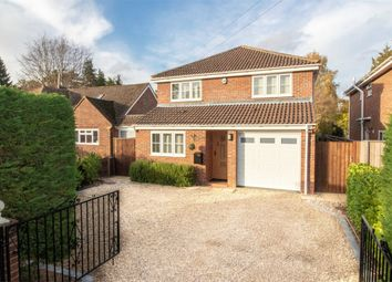 Thumbnail 4 bed detached house for sale in Albany Road, Fleet