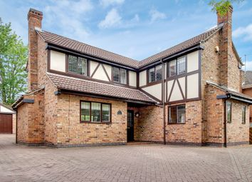 Thumbnail 4 bed detached house for sale in Kings Lodge Drive, Mansfield