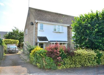Thumbnail 3 bed semi-detached house for sale in Buckingham Close, North Wootton, King's Lynn