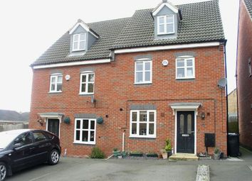 Thumbnail 4 bed semi-detached house for sale in Strutts Close, South Normanton, Alfreton