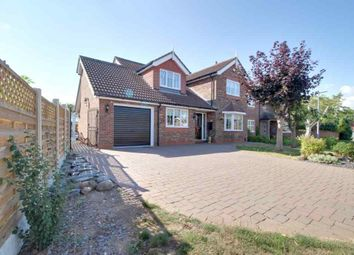 Thumbnail 4 bed detached house for sale in Hunters Close, Great Coates, Grimsby