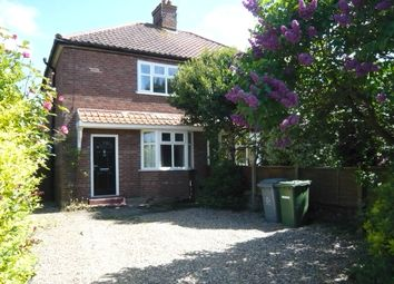 Thumbnail 3 bed semi-detached house for sale in Falcon Road East, Sprowston, Norwich